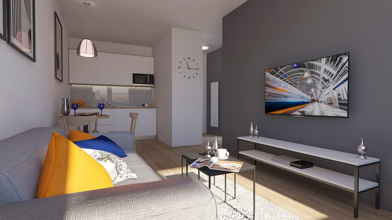 2 izbovy apartman Blue City Center