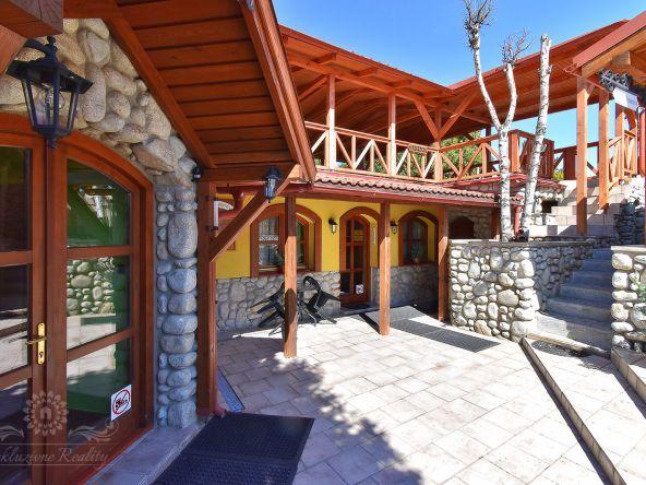 Útulný rodinný penzión s reštauráciou na predaj v obci Stará Lesná – Vysoké Tatry